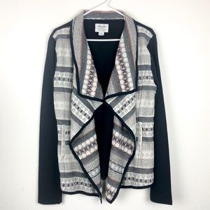 Lucky Brand Pocketed Cardigan size Large